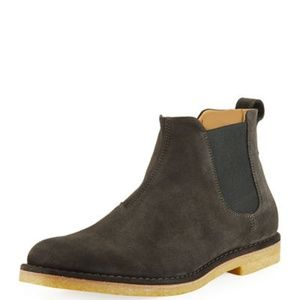 Vince Sawyer Chelsea Boot Graphite Gray 9.5